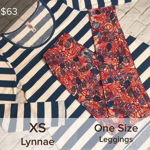 💕🦄LuLaRoe Lynnae & OS Leggings Outfit🦄💕